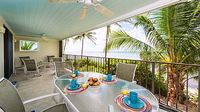 Second Floor Oceanfront Condo in Private Gated Community on the Beach