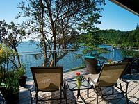 Private Waterfront Beach New Kitchen Fireplace Storm Viewing Gorgeous View Sunny