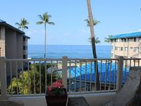 Charming Oceanview 1BR 1BA at Kona Reef 1st Floor F bldg Free WiFi upgraded