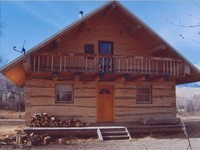 Beautiful Hand Built Log Cabin with Private Fishing