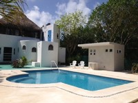 NEW POOL AUTHENTIC MAYAN PALAPA