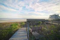 Folly Beach 2BR 2BA Oceanfront Home-BBQ Grill-Front Row Sunrise sur Private