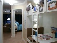 King Suite Queen Adult size Bunks Leather Sleeper Sofa 2 full Baths Sleeps 8