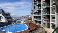 Appartement de luxe 1 chambre dans la marina de premi re ligne