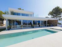 Luxurious architect house Panoramic sea and cape canaille