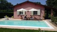 Elda Villa with private pool located on one floor close to Lucca