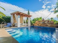 FINCA WITH DREAM GARDEN AND MINIZOO - private pool and sun terrace AC TV Wifi
