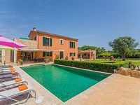 LOVELY FINCA FINCA - pool + garden + terrace with chill out area TV WIFI