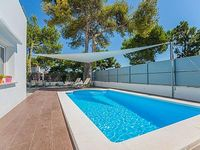 The modern holiday home Falco is located in the heart of Alcudia in a quiet residential area