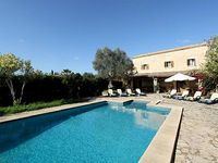 LOVELY FURNISHED NATURAL STONE FINCA - private pool terrace wifi TV BBQ