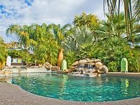 Spacious Open Concept Home - Large Tropical Backyard With Pool Spa + Waterfall