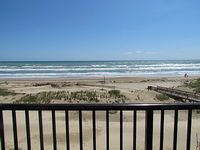 There are 3 very spacious bedrooms and 2 full bathrooms our condo sleeps 8