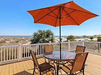Enjoy the Ocean Views from the Master Bedroom Living Room and Deck