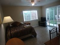 1 fully furnished bedroom full kitchen