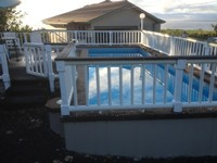 Private home salt pool oceanfront jacuzzi tub 5 bedrooms 2 1 2 bath