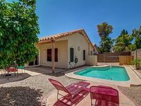 Newly upgraded and fully furnished 4 bedroom Gilbert home with sparkling pool