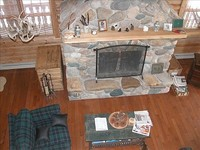 Lodge has 3 bedrooms 2 baths Mountain views on the Madison River