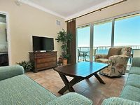 Crystal Shores West offers everything you want in a beachside vacation resort This 108 unit complex crowns a prime location on beautiful beautiful West Beach in Gulf Shores Enjoy a limitless view of the emerald waters of the Gulf of Mexico from your private oversized balcony accessed from the living room and your spacious master bedroom A zero entry outdoor pool plus many other amenities prov