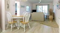 Best Location 2b 1b with updated kitchen fans in all rooms and partial view of Siesta Beach