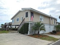 OCEANFRONT PRIVATE WALKOVER 4 BED 3 BATH GAME ROOM 2 DECKS GRILL SUN FUN