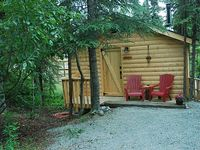 Rustic 1 Room Cabin With 2 Twin Beds 17 miles from town of Soldotna