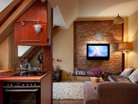 Designer Style 2 bedroom penthouse apartment in central Riga