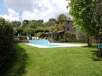 Traditional stone farmhouse sleeps 11 with large pool ideal for children