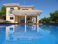 A Mediterranean villa with private swimming pool