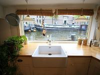 Great houseboat in the centre of the city