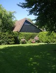 With a beautiful well-kept and secluded garden