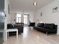Contemporary one bedroom apartment that can accommodate four guests located in the Jordaan area in