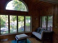Maison Lakefront de superbes vues sur le lac et les montagnes