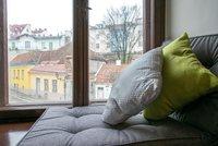 Studio moderne pour 3 personnes avec une vue magnifique sur la vieille ville