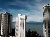 2BD Sea amp City View Gurney Drive