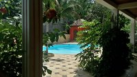 Grand studio meubl dans Lodge avec piscine