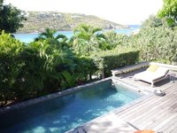 St Barth Location Villa 1 lit Piscine Vue sur Mer Situ Marigot