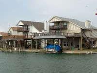 4 Bedroom 2 bath waterfront w boathouse located off Galveston Bay