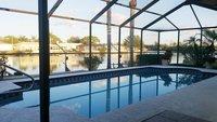piscine maison pieds dans l 39 eau sur la rivi re Anclote l 39 acc s Tarpon Springs et golfe du Mexique