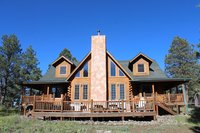R amp R Ranch - Log Cabin Retreat sur 20 acres 50 Miles S du Grand Canyon