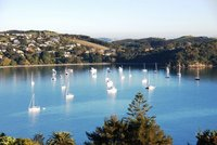 Waiheke Island - Oneroa wwith Vues spectaculaires