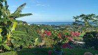 Chambre double avec magnifique vue sur venus tahiti